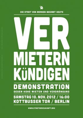 Kotti-Demonstration, Mieten, Verdrängung